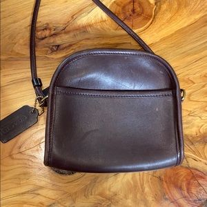 COACH brown crossbody bag